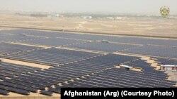 پروژه برق آفتابی که در کندهار گشایش یافت