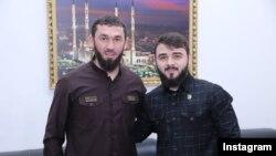 Магомед Даудов и Хамзат Кадыров, фото из Instagram