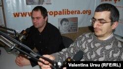 Ernest Vardanean şi Ilie Cazac