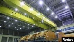 تصویری از داخل نیروگاه اتمی بوشهر