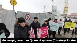 Акция протеста обманутых дольщиков (архивное фото)