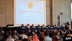 Conferința opoziției siriene de la Cairo, 2 iulie.
