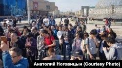 Активисты в Якутии, иллюстративное фото