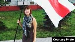 Актывістка ініцыятывы «Дзея» Аліна Нагорная