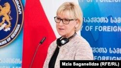 Глава МИД Швеции Маргот Вальстрем