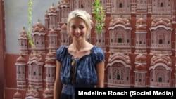 Маделайн Роуч, фото из соцсетей, используется с согласия журналистки