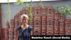 Маделайн Роуч, фото из соцсетей, используется с согласия журналистки.