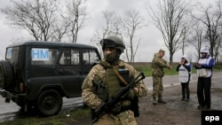 Спостерігачі ОБСЄ на сході України, архівне фото