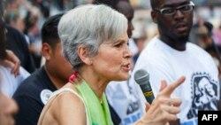ABŞ Yaşıllar Partiyasının namizədi Jill Stein