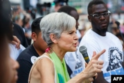 U.S. Green Party presidential candidate Jill Stein