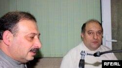 Rauf Mirqədirov və Musa Quliyev