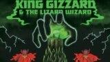Detaliu de pe coperta albumului I'm I Your ind Fuzz, King Gizzard & The Lizard Wizard, 2014.