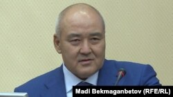 Заместитель премьер-министра — министр сельского хозяйства Казахстана Умирзак Шукеев. Астана, 28 мая 2018 года.