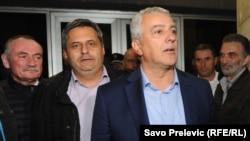 Slaven Radunović i Andrija Mandić lideri opozicionog Demokratskog fronta