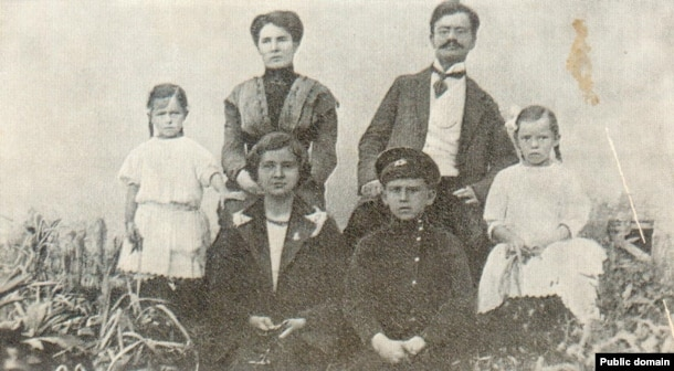 Сям'я Альбэрта Паўловіча