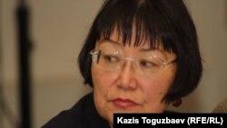 «Аман-саулық» қорының жетекшісі Бақыт Түменова. Алматы, 13 желтоқсан 2012 жыл.