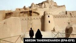 Citadela Arg-e Bam din sudul Iranului, parte a patrimoniului UNESCO