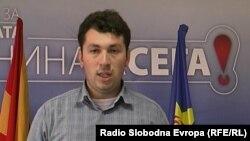 Филип Попоски, портпарол на прилепската организација на СДСМ.