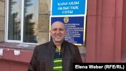 Журналист Олег Гусев. Қарағанды, 2 сәуір 2019 жыл.