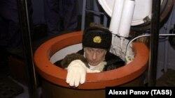 Владимир Путин на военных учениях (архивное фото)
