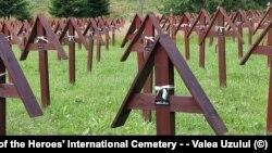 Romania - Cimitirul Internațional al Eroilor din Valea Uzului