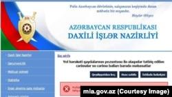 mia.gov.az saytında xəta