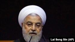 د ایران ولسمشر حسن روحاني
