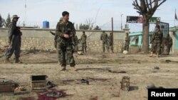 Sulmi në një qendër rekrutimi në Kunduz, ku humbën jetën 36 persona, 14 mars2011