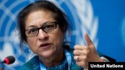 عاصمه جهانگیر، گزارشگر ویژه سازمان ملل در امور حقوق بشری ایران