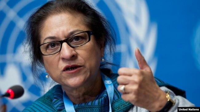 عاصمه جهانگیر، گزارشگر ویژه سازمان ملل در مورد وضعیت حقوق بشر در ایران