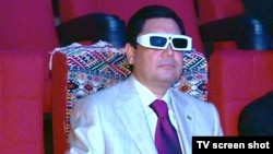 President Gurbanguly Berdymukhammedov opened the cinema on his birthday.