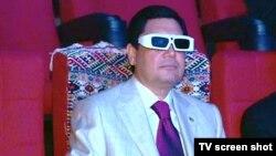 President Gurbanguly Berdymukhammedov opened the cinema on his birthday.