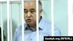 Лидер кыргызстанской партии «Ата Мекен» Омурбек Текебаев.
