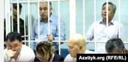 Өмүрбек Текебаев жана Дүйшөнкул Чотонов сотто, 5-июнь, 2017-жыл