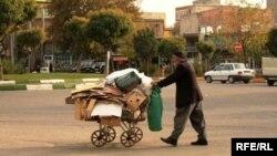 На одной из улиц Урмии