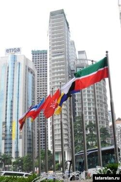 Малайзиядә Татарстан әләме