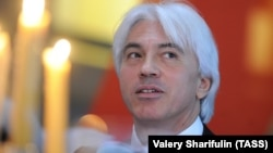 Russian baritone Dmitry Khvorostovsky attends the eighth Vienna Ball in Moscow in April.