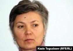 Директор организации «Китеж» Людмила Антропова. Алматы, 25 октября 2011 года.