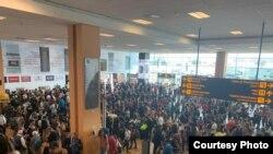 Аэропорт Лимы, 16 марта