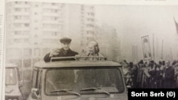 Ceaușescu visits Mining Company