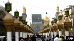 منطقه کاظمین در شمال بغداد، منطقه اصلی حضور شیعیان در پایتخت عراق است. (عکس: Afp)