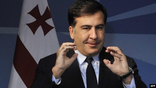 Georgian President Mikheil Saakashvili