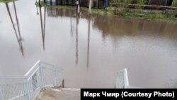 Затопление в посёлке Могзон в Забайкалье