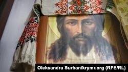 Ікона в кімнаті пані Теодозії