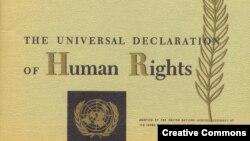 Всеобщая декларация прав человека.