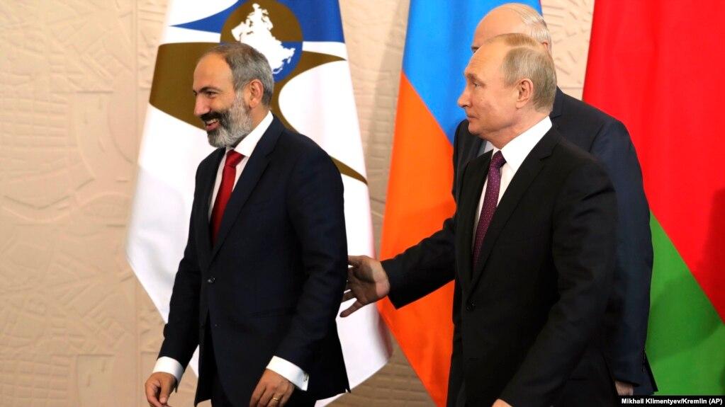 Пашинян встретится с Путиным «в формате рабочего визита»