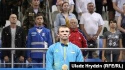 Олександр Хижняк переміг на боксерському турнірі в Мінську