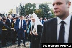 Патриарх Кирилл в Минске, 13 октября 2018 года