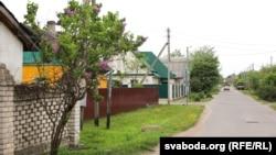 Вуліца ў раёне Чапаеўка ў Магілёве, дзе жывуць цыганы