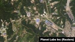 Солтүстік Кореядағы зымыран өндіруші орын. Көрнекі сурет
